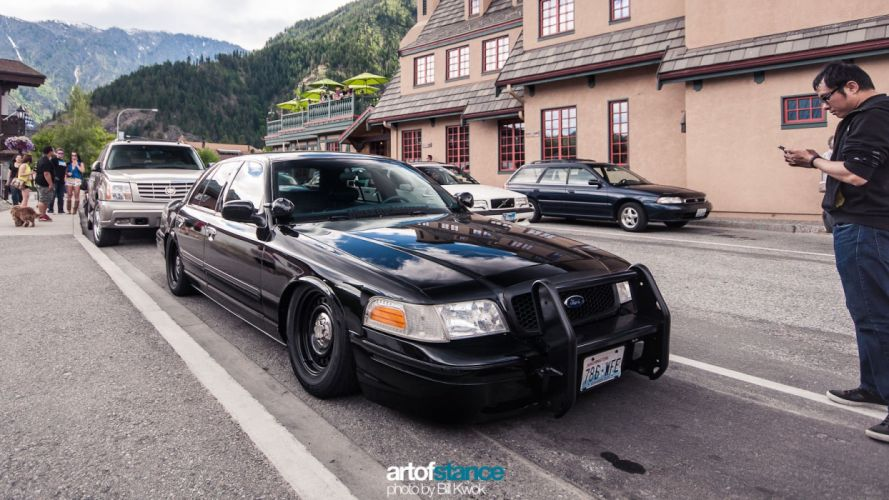 crown vic low stance ford wallpaper