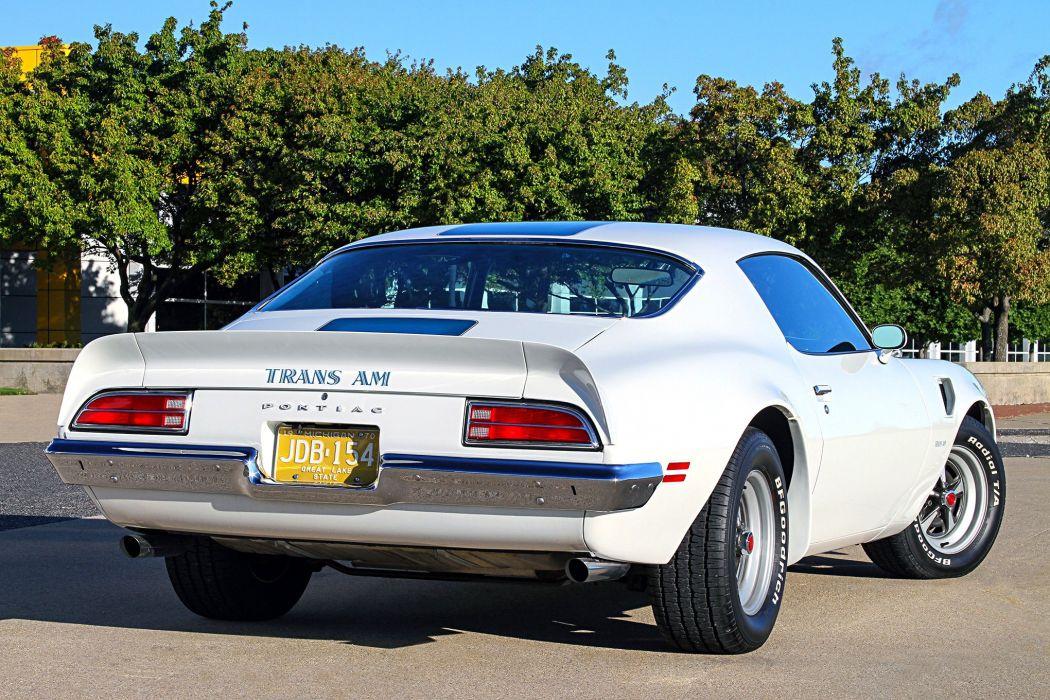 1970 Pontiac Trans-Am cars white wallpaper