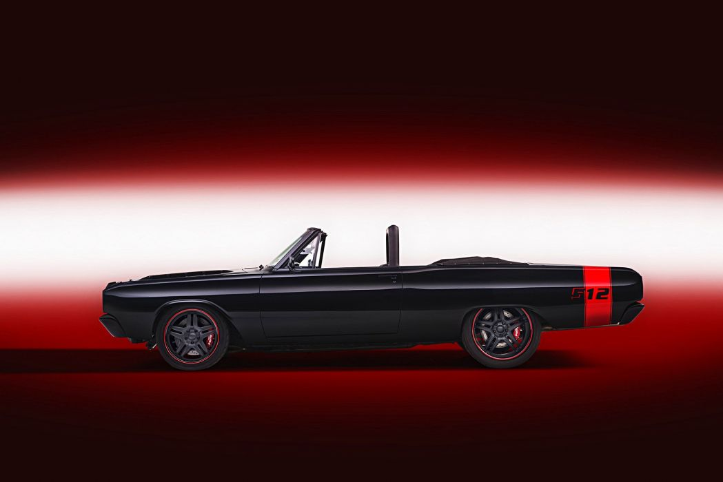 1967 Dart (GT) convertible black cars modified wallpaper