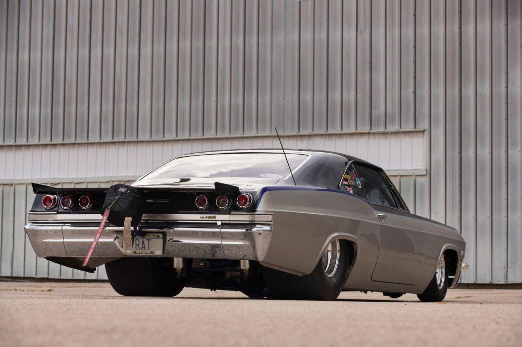 1965 Chevrolet Impala cars drag wallpaper