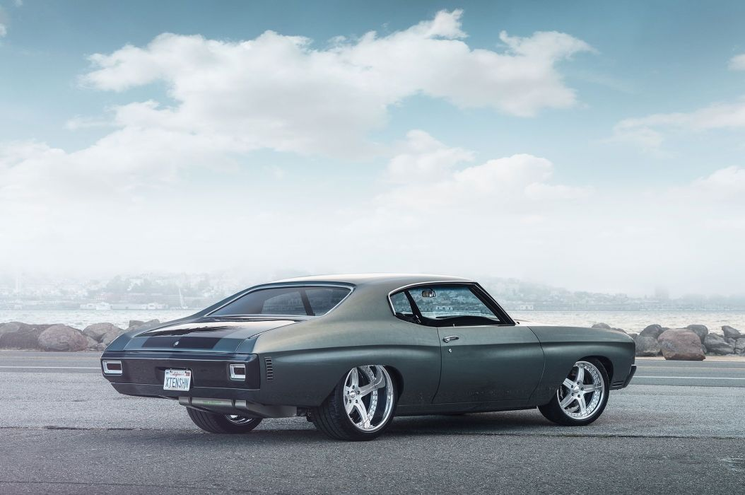 1970 Pro Touring Chevelle chevy cars wallpaper