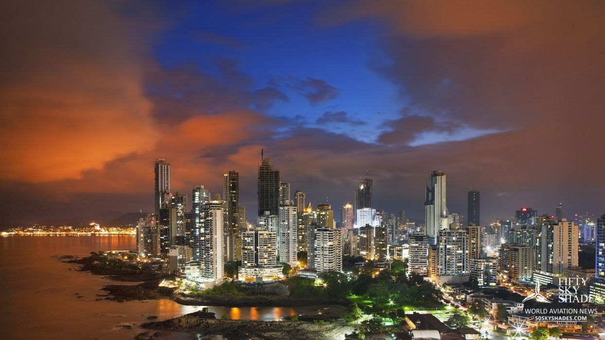 panama city panama centro america  wallpaper