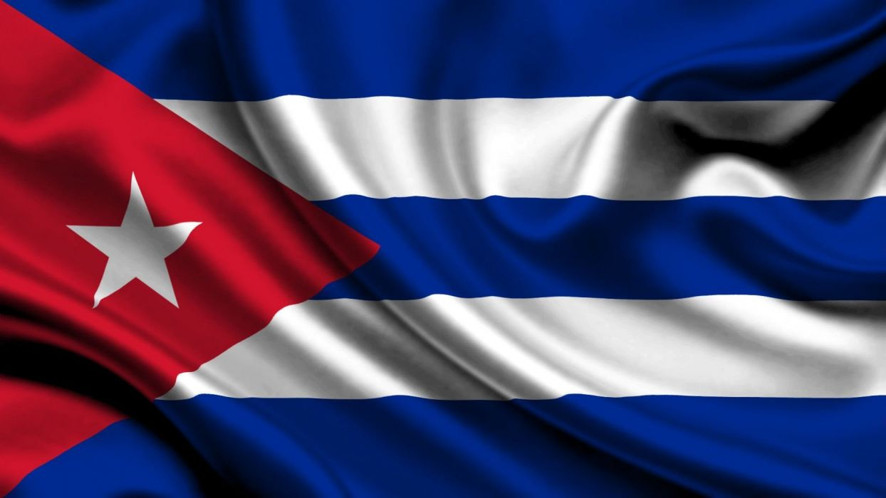 bandera cuba centro america caribe wallpaper