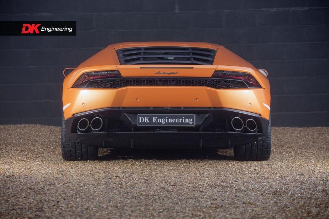 Lamborghini Huracan cars uk-version 2016 wallpaper
