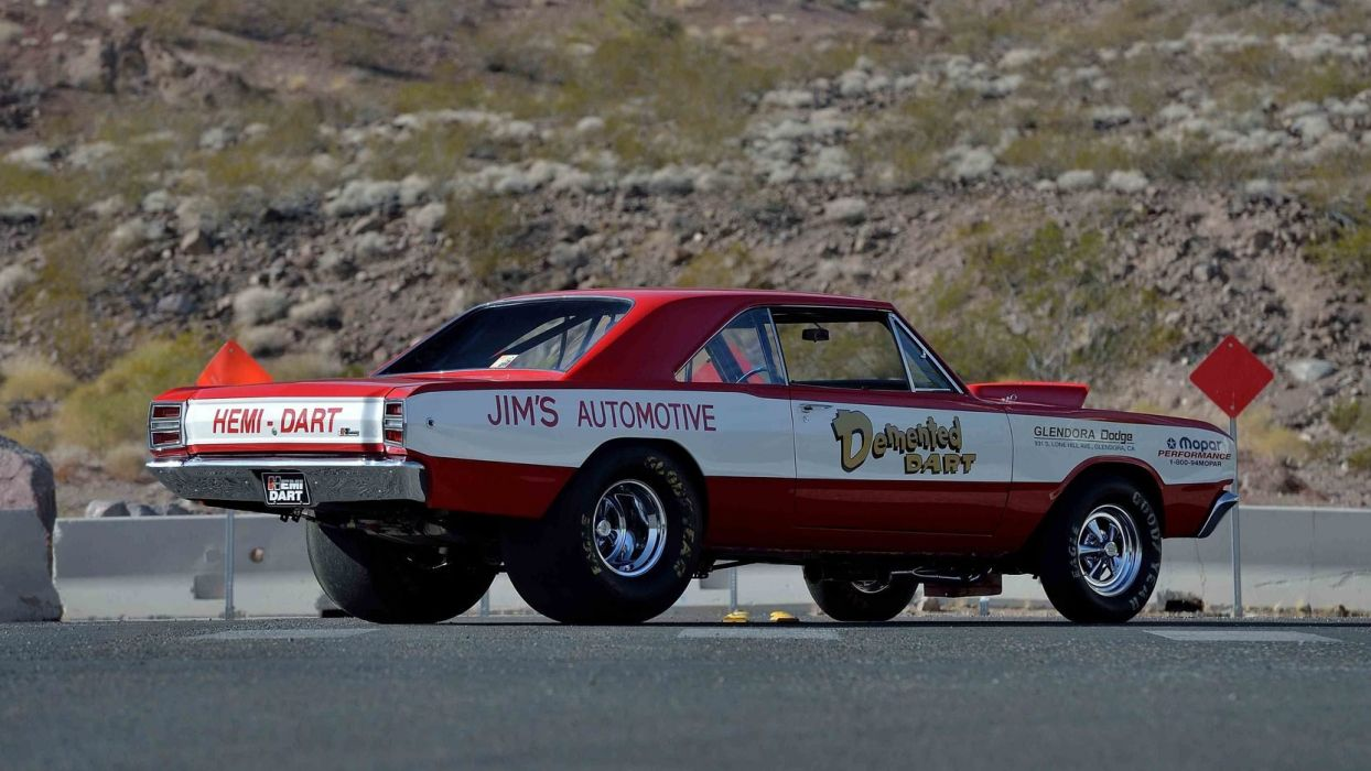 1968 DODGE HEMI DART cars SUPER STOCK wallpaper