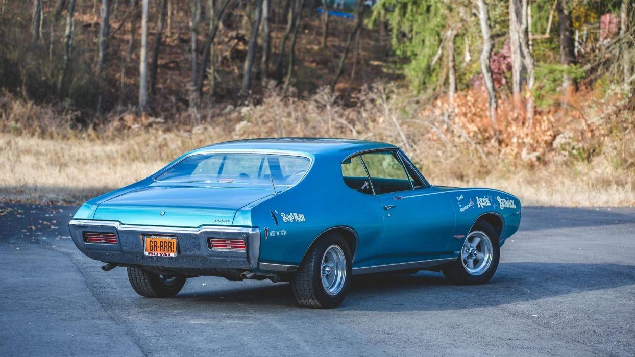 1968 Pontiac Royal Bobcat Cars Blue Gto Wallpaper 1664x936