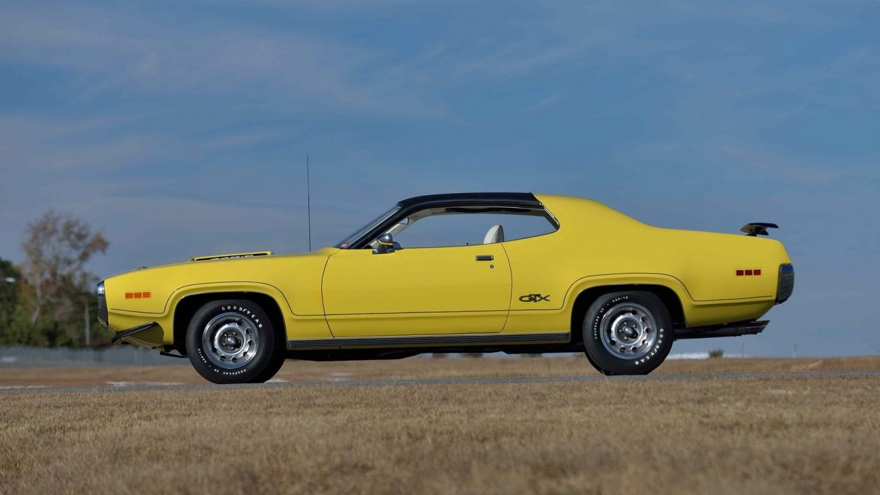 1971 PLYMOUTH GTX 440 cars wallpaper