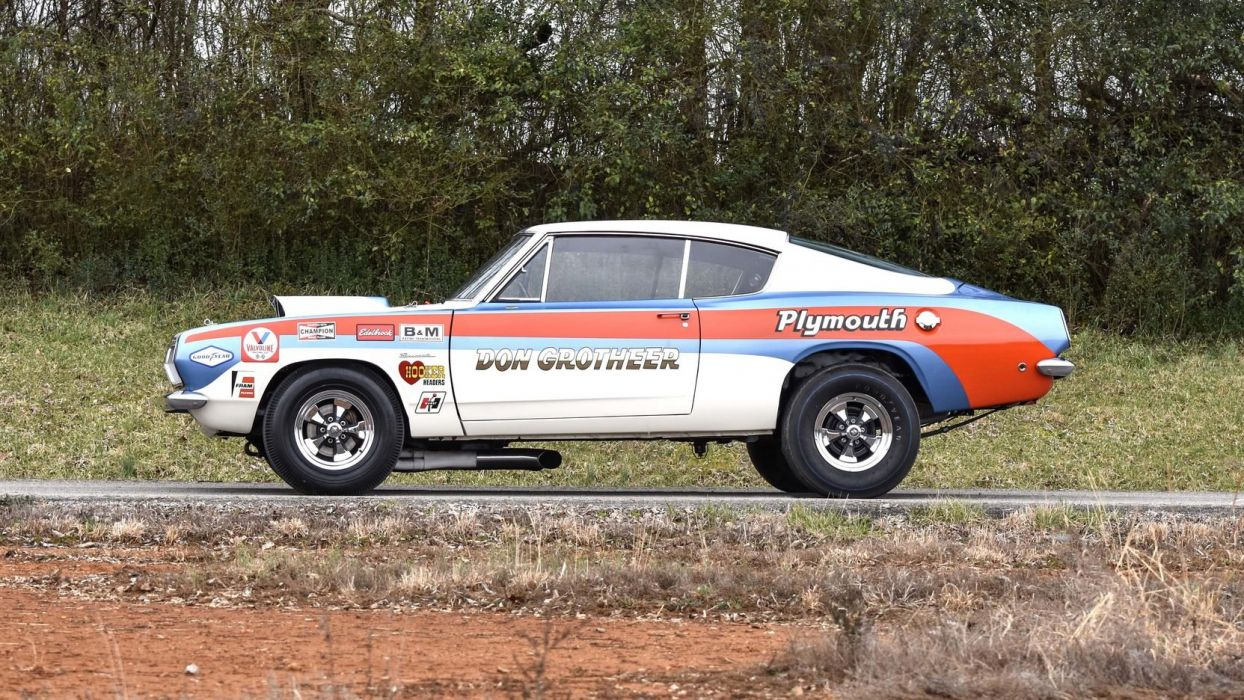 1968 PLYMOUTH BARRACUDA STOCK cars wallpaper