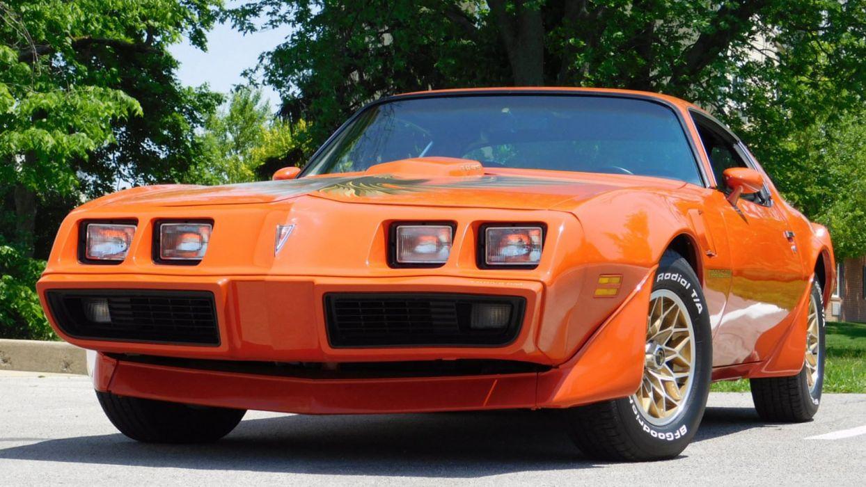 1980 PONTIAC TRANS-AM cars orange wallpaper