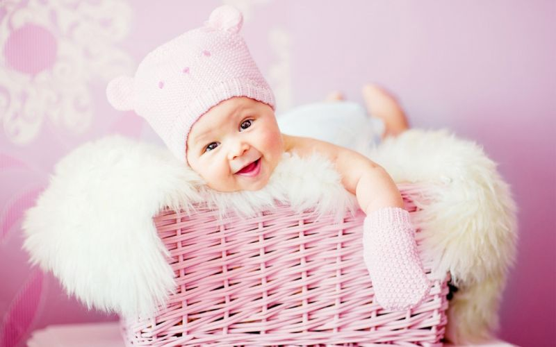 cute laughing baby-1440x900 wallpaper