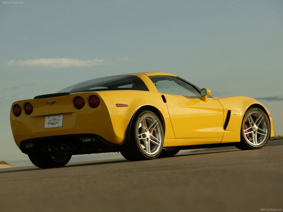 Chevrolet Corvette C6 Z06 wallpaper