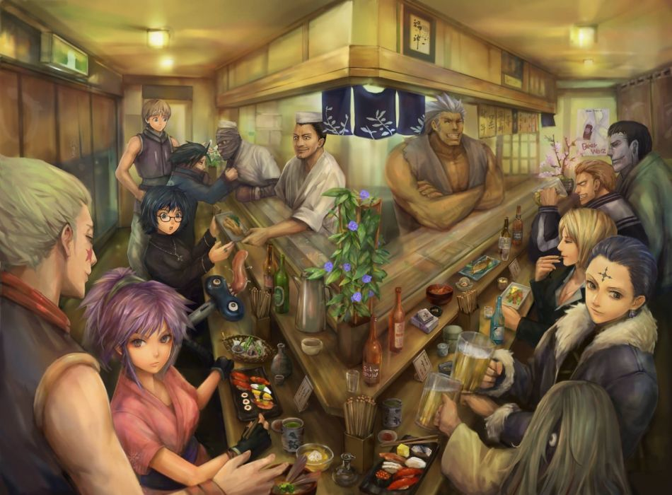 hunter x hunter hunter x hunter anime series characters group wallpaper