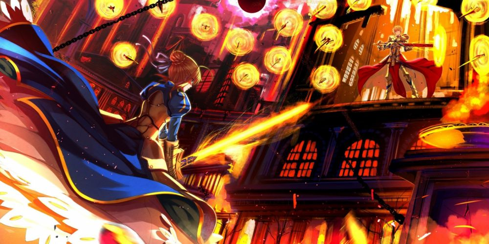 anime series fate stay night zero characters wallpaper