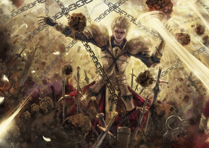 anime series fate stay night zero character wallpaper