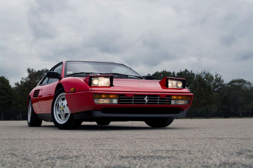 Ferrari Mondial (T) us-version cars red 1989 wallpaper