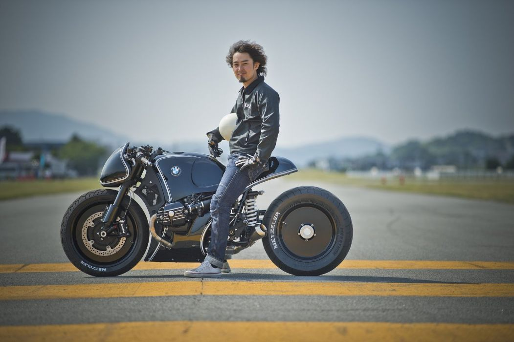 BMW R-nineT Highway Fighter motorcycles Cherrys Company 2014 wallpaper