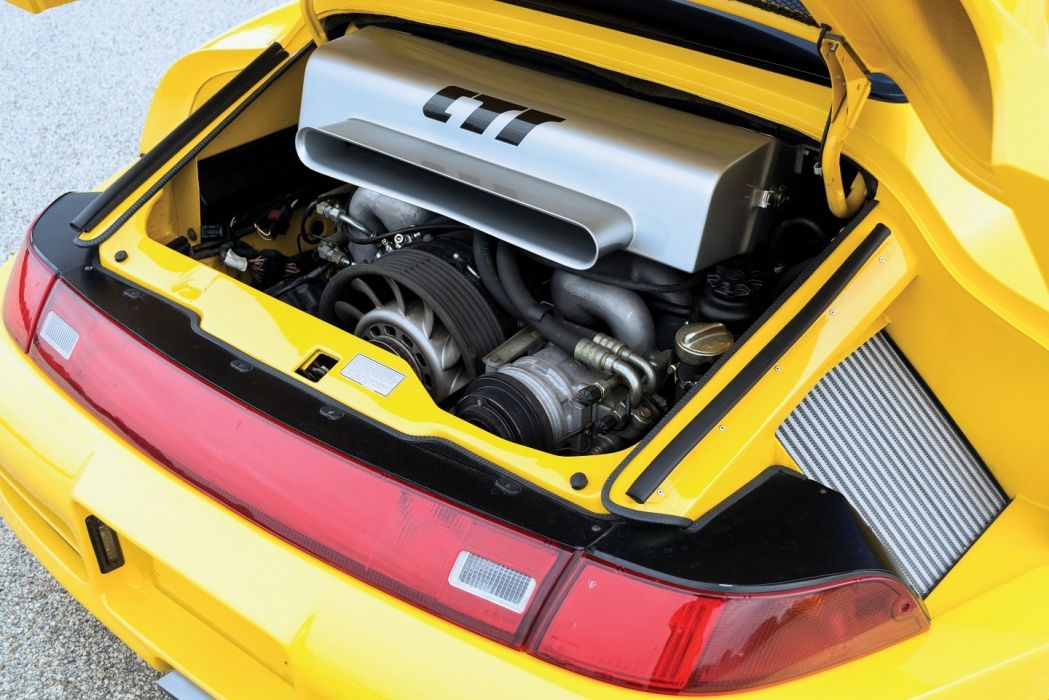 Ruf CTR2 porsche (993) cars yellow 1995 wallpaper