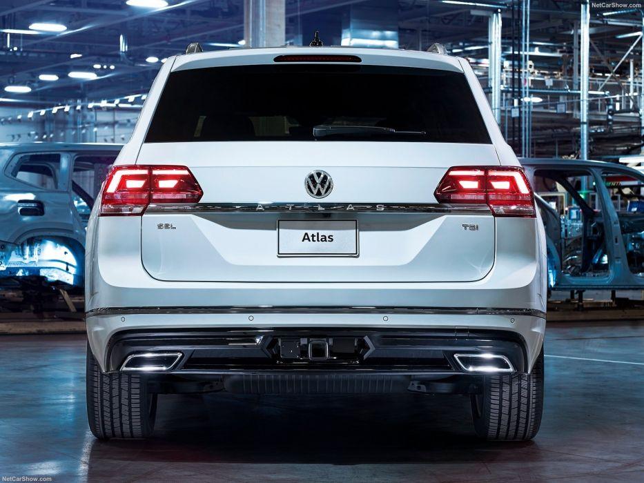 Volkswagen Atlas R-Line cars suv 2017 wallpaper