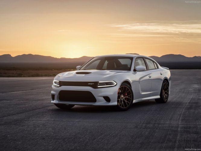 Dodge Charger SRT Hellcat 2015 wallpaper