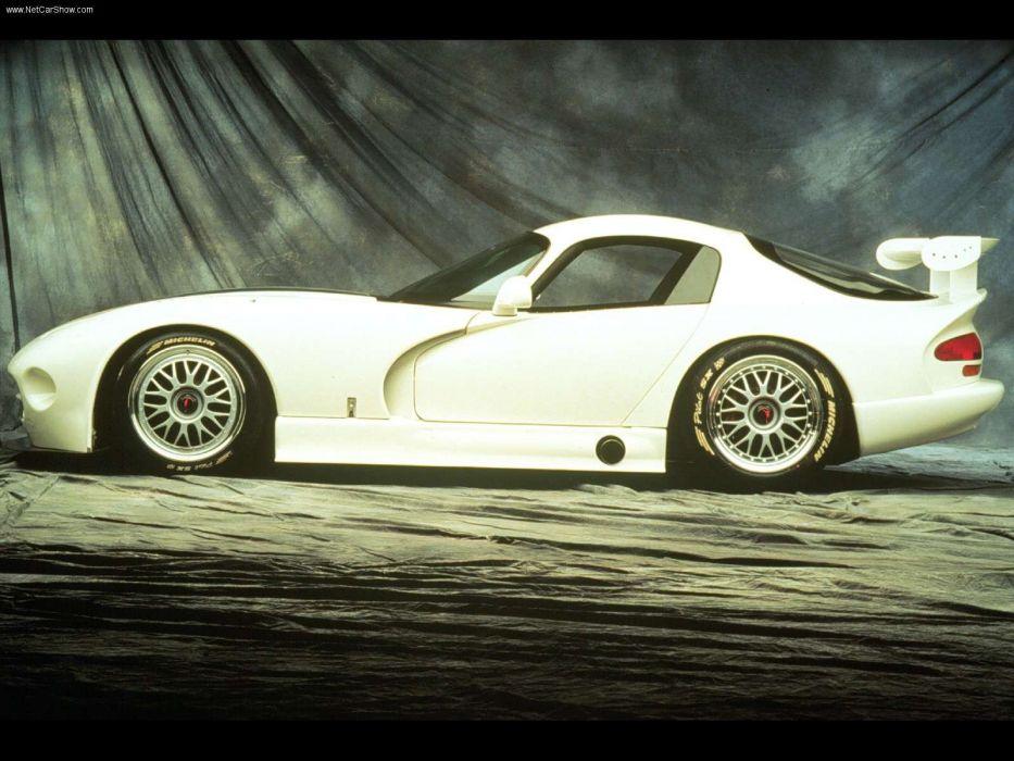 Dodge Viper GTS-R Race Car wallpaper