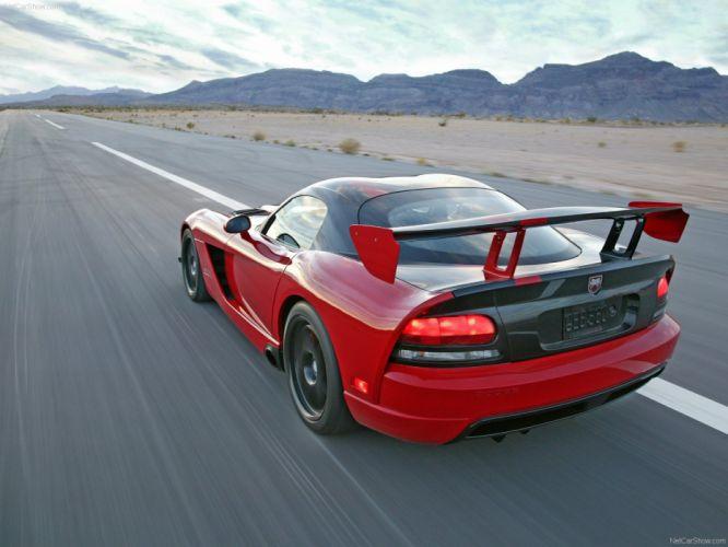 Dodge Viper SRT10 ACR 2008 wallpaper