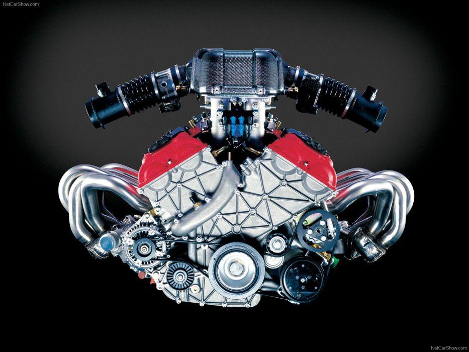 Ferrari Enzo Engine wallpaper