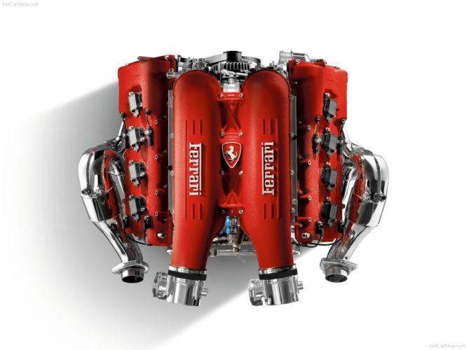 Ferrari F430 2005 Engine wallpaper