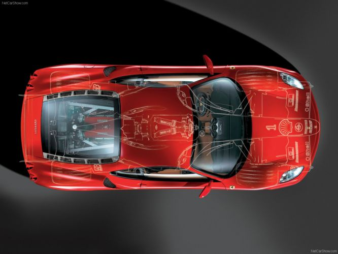 Ferrari F430 2005 Cutaway wallpaper