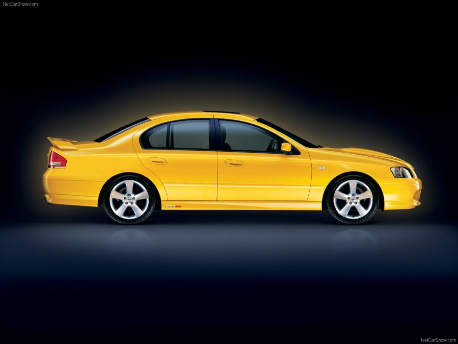 Ford BA MkII Falcon XR8 2004  wallpaper