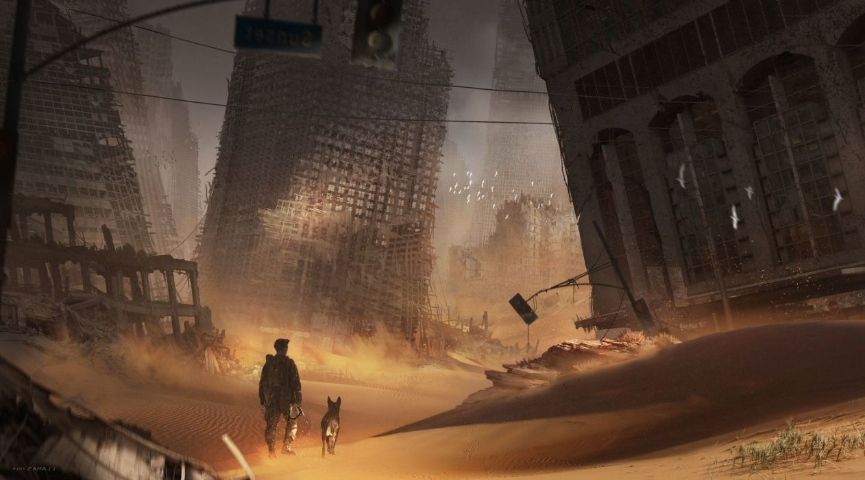 apocalyptic artwork digital art Fallout 4 fantasy Art Wasteland wallpaper