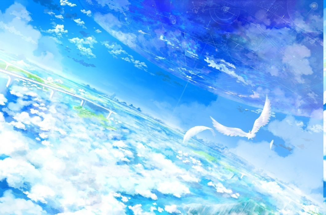 fantasy Art sky wallpaper