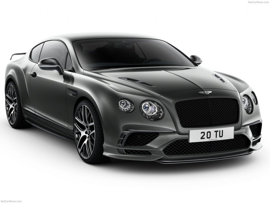 Bentley Continental Supersports cars 2017 wallpaper