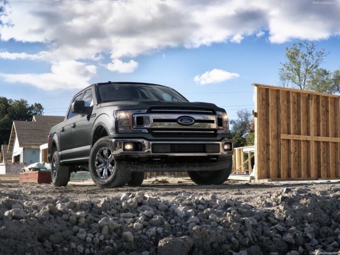 Ford 2018 F-150 4x4 pickup truck wallpaper