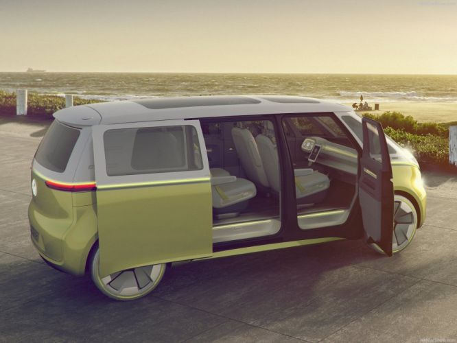 Volkswagen 2017 (ID) Buzz Concept cars wallpaper