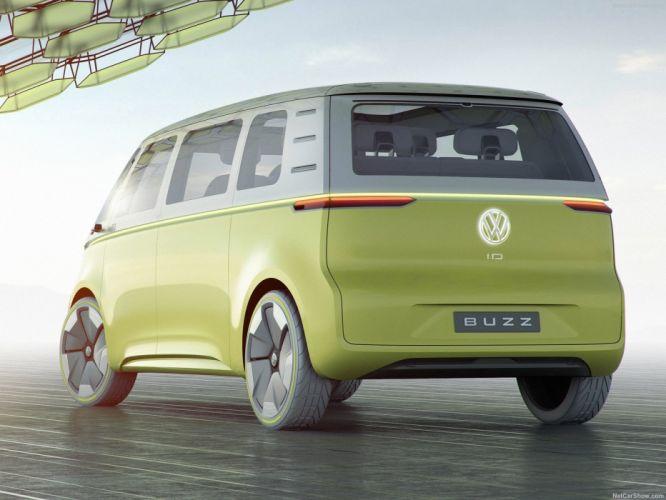 Volkswagen 2017 (ID) Buzz Concept cars wallpaper