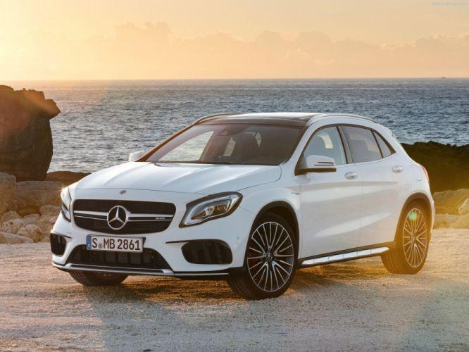 Mercedes Benz amg 2017 GLA GLA45 cars suv wallpaper