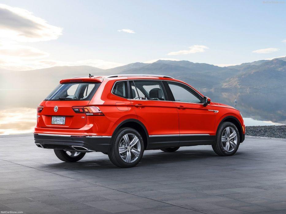 Volkswagen Tiguan Allspace cars suv 2017  wallpaper