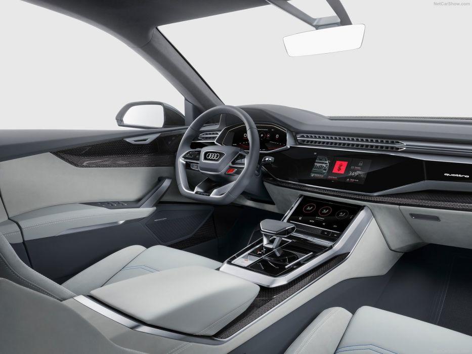 2017 Audi (Q8) cars suv Concept wallpaper