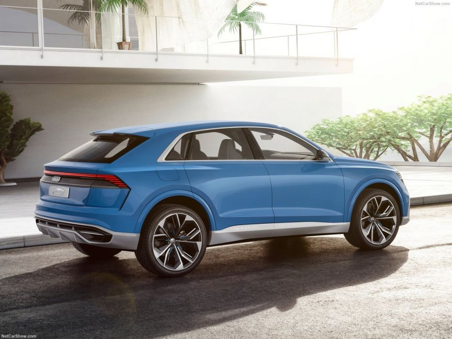 2017 Audi (Q8) cars suv Concept wallpaper