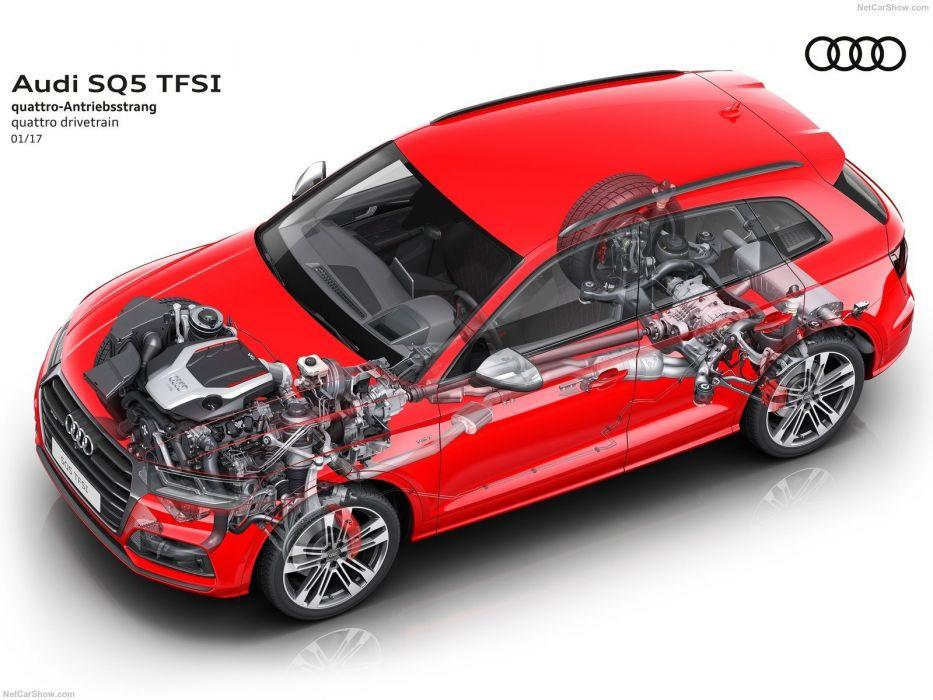 Audi SQ5 cars suv 2017 TFSI cutaway wallpaper
