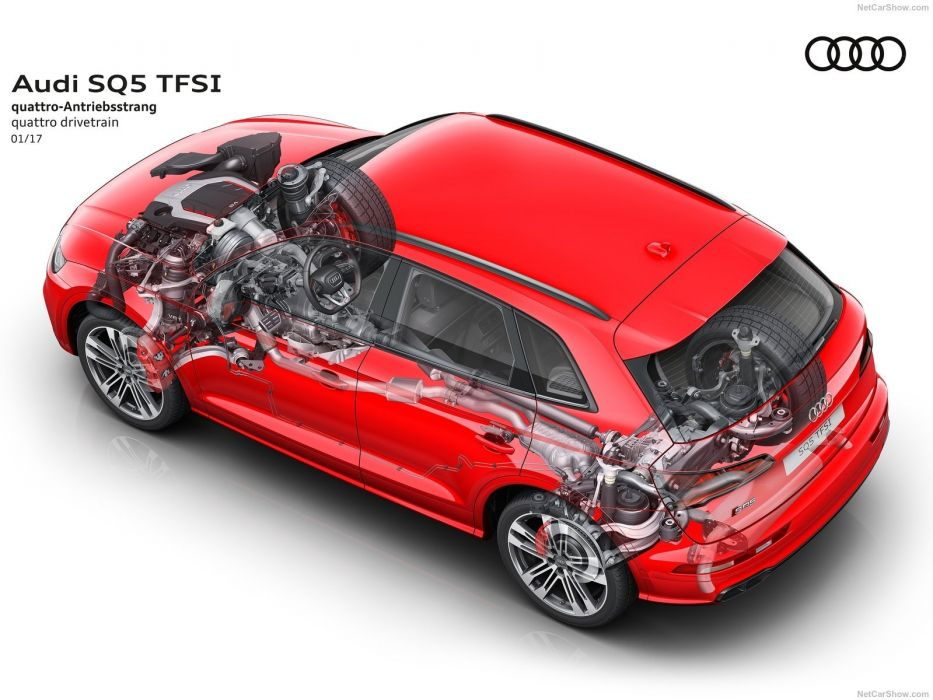 Audi SQ5 cars suv 2017 TFSI cutaway wallpaper