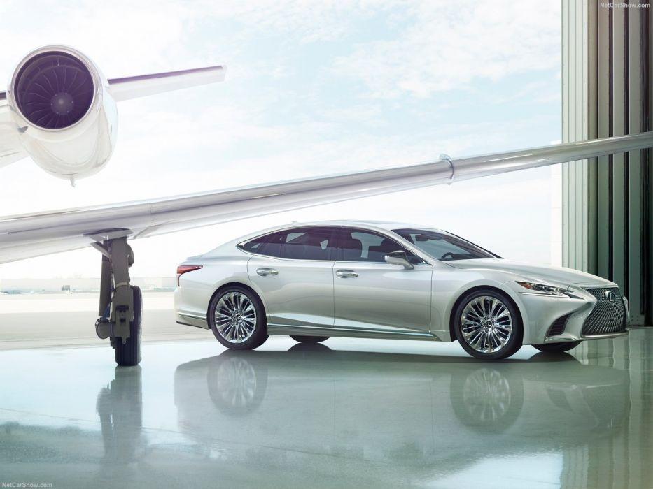 Lexus 2017 cars sedan LS500 wallpaper