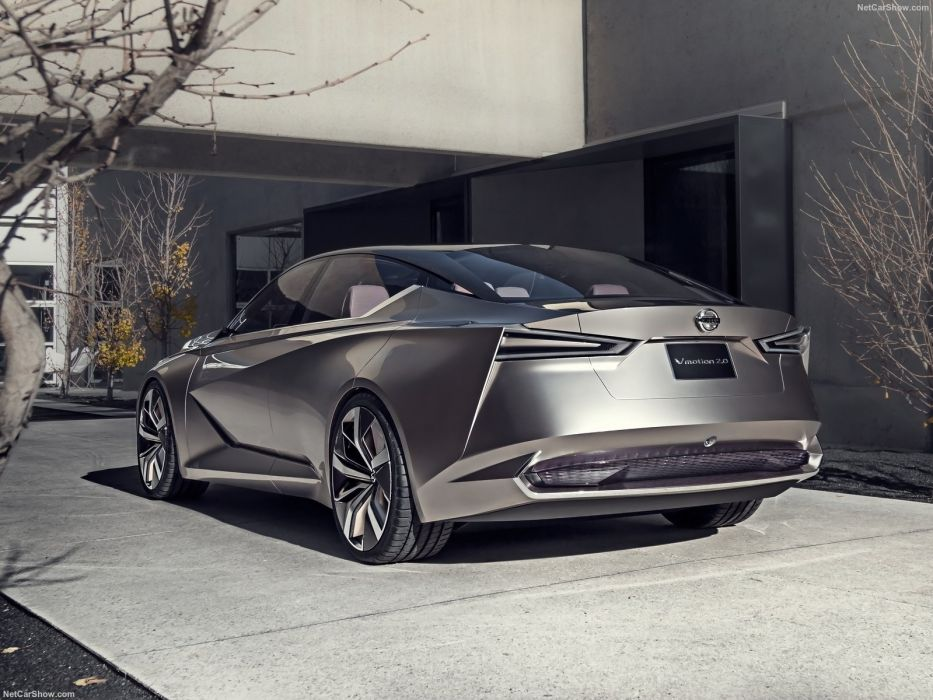 2017 Nissan Vmotion (2 0) Concept cars wallpaper