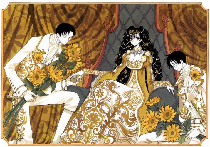 anime xxxHOLiC Series OVA Shizuka Doumeki Character Himawari Kunogi Character Kimihiro Watanuki Character wallpaper