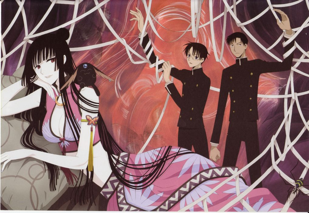 anime xxxHOLiC Series OVA Shizuka Doumeki Character Kimihiro Watanuki Character wallpaper