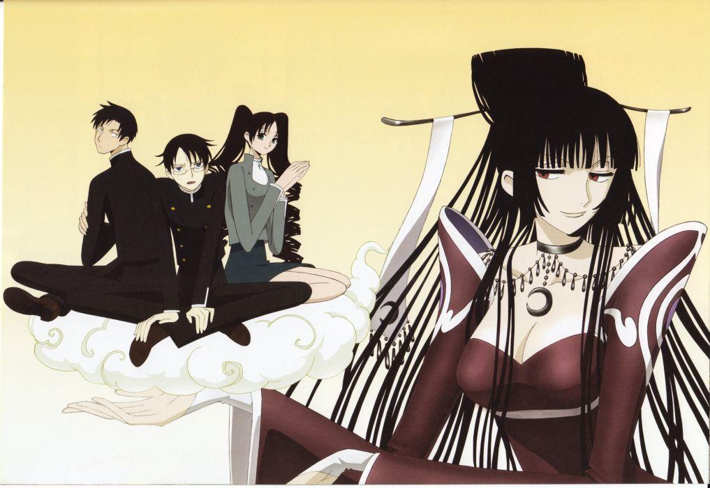 anime xxxHOLiC Series OVA Yuuko Ichihara Character Shizuka Doumeki Character anime wallpaper