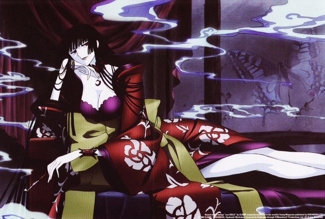 anime xxxHOLiC Series OVA Yuuko Ichihara Character wallpaper