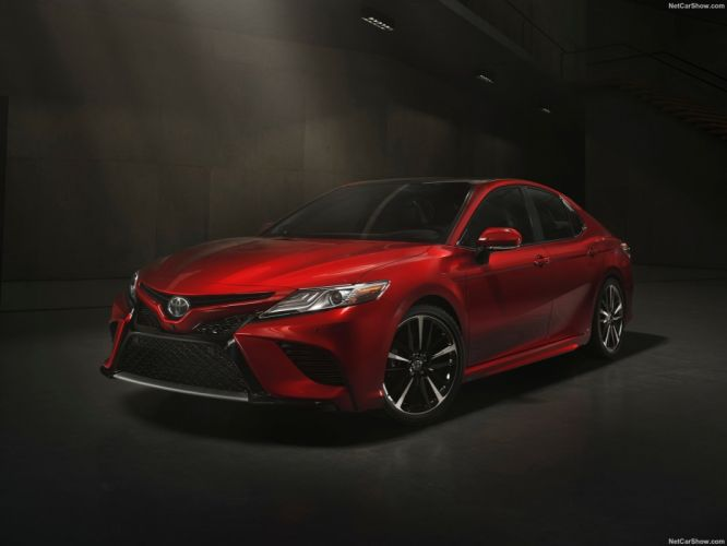 Toyota Camry cars sedan 2017 wallpaper