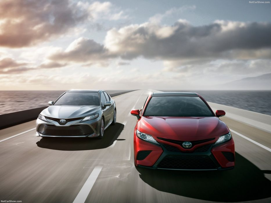 Toyota Camry cars sedan 2017 wallpaper