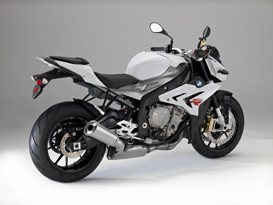 BMW S1000R white 2014 rear right wallpaper